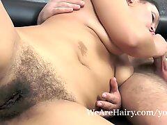 Ericka Fly and lover have hot kitchen sex together