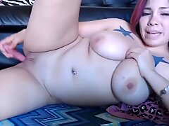 chinese enjoys her small fucktoy
