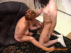 interracial gangbang with a hot horny part 5
