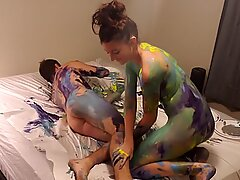 Collage Slut Gets Extra Credit in Art Class