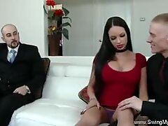 Tattoo Punk Wife Swings For Her Man
