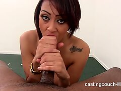 Castingcouch-HD Black whore casting